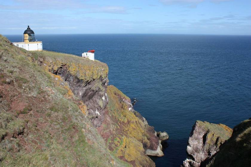 St. Abbs Head lighthouse